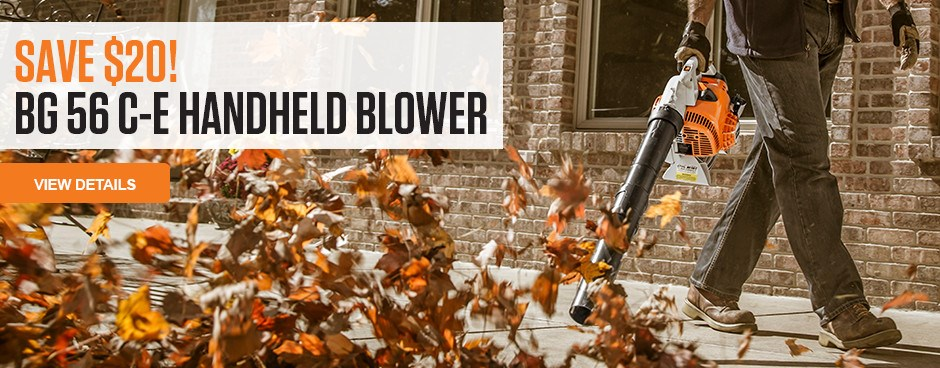 Save Now on the BG 56 C-E Handheld Blower